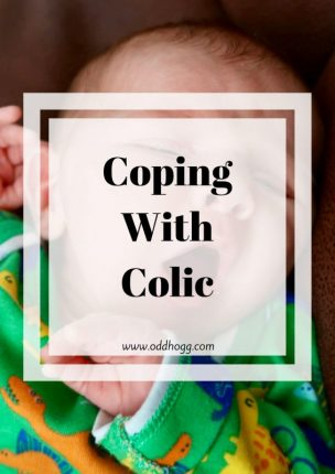 Coping With Colic | Do you know what infantile colic is? I've teamed up with Infacol to tell you a little more about it - and let you know you're not alone! https://oddhogg.com