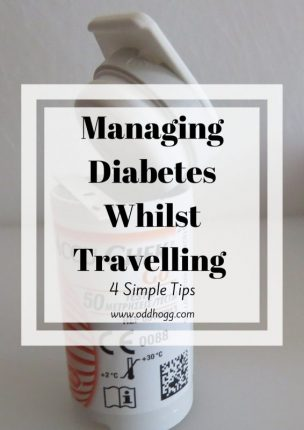 Managing Diabetes Whilst Travelling – 4 Simple Tips | It can be daunting leaving home for a few days if you have type 1 diabetes, but with these 4 tips you can take away some of the stress and know that you're prepared https://oddhogg.com