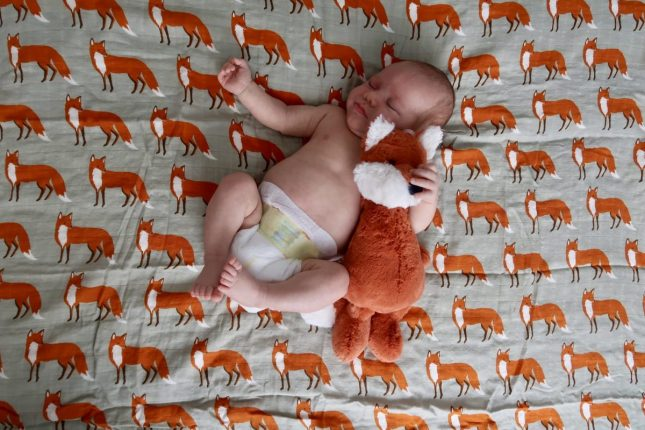 Newborn Favourites for baby number 2 | Bumble Baby Boutique fox muslin www.oddhogg.com