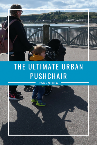 The ultimate urban pushchair | A mother and 2 children pushing a pram www.oddhogg.com