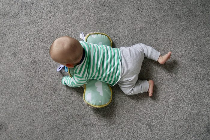 Taf Toys Developmental Pillow Review | From above www.oddhogg.com