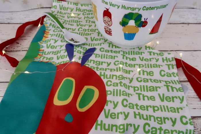 Christmas Gift Ideas For Kids | Very Hungry Caterpillar Baking Set from Portmeirion www.oddhogg.com
