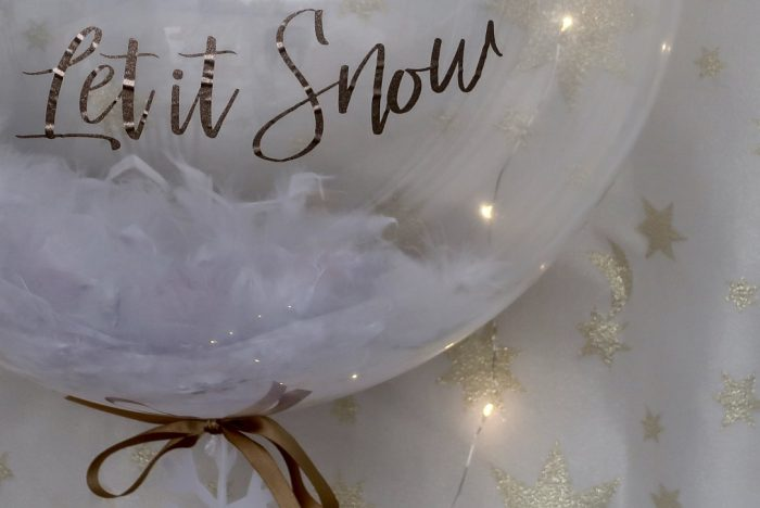 Gift Ideas For Women For Christmas 2018 | Snowflake bubble balloon www.oddhogg.com