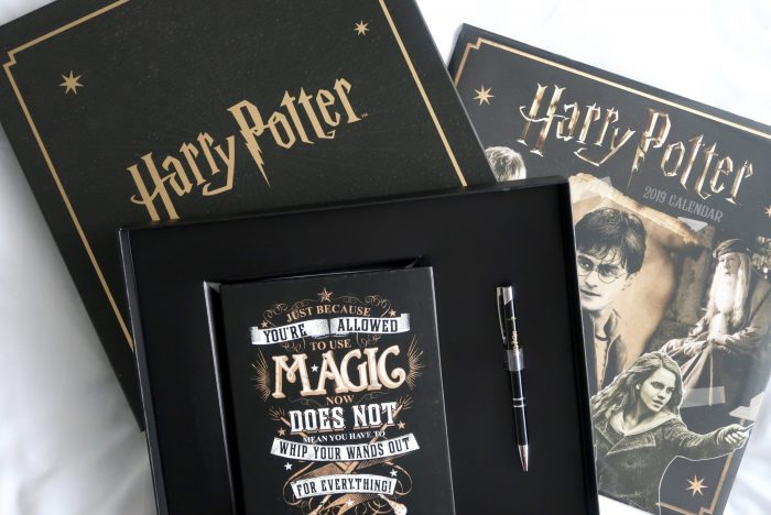 Getting Organised in 2019 | Danilo Harry Potter Gift Set www.oddhogg.com
