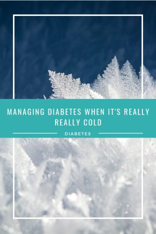Managing Diabetes In The Cold | Coping with type 1 diabetes when it is snowing or really cold outside can be tough. These are my top tips for managing diabetes in the cold. Advice for handling diabetes when skiing or sledging www.oddhogg.com