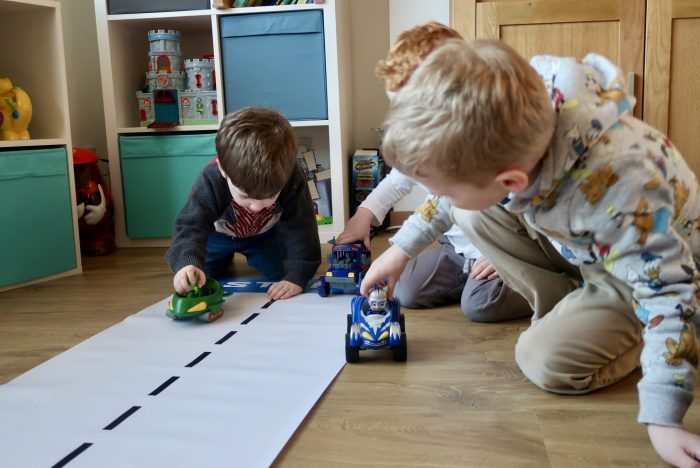 PJ Masks Racers Review | Boys with their vehicles www.oddhogg.com