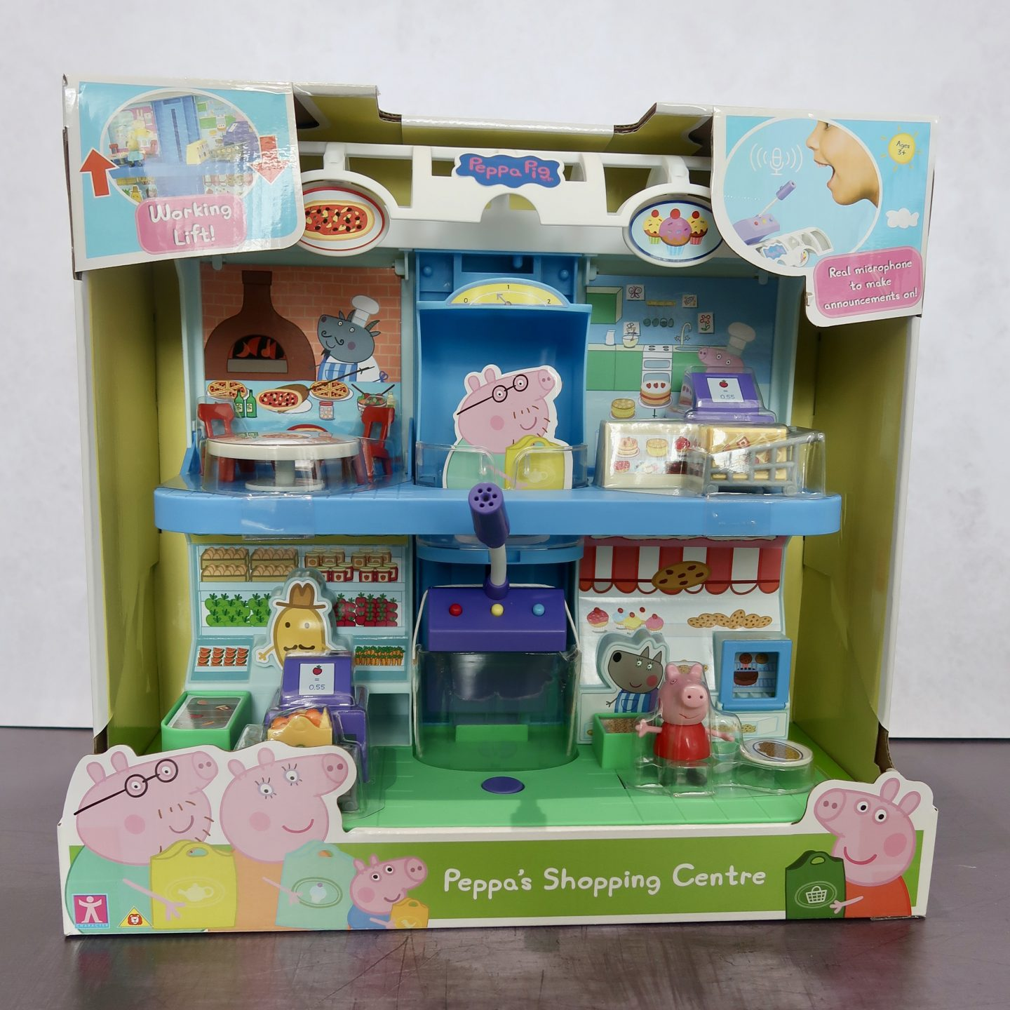 Peppa's Shopping Centre Playset toy