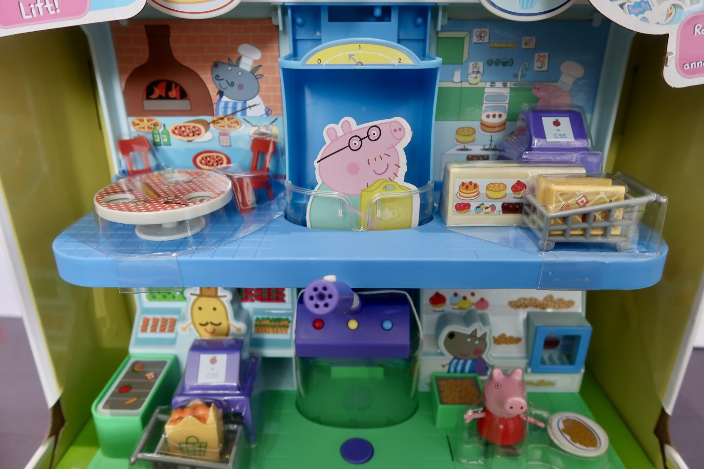 Peppa's Shopping Centre Playset toy in it's packaging