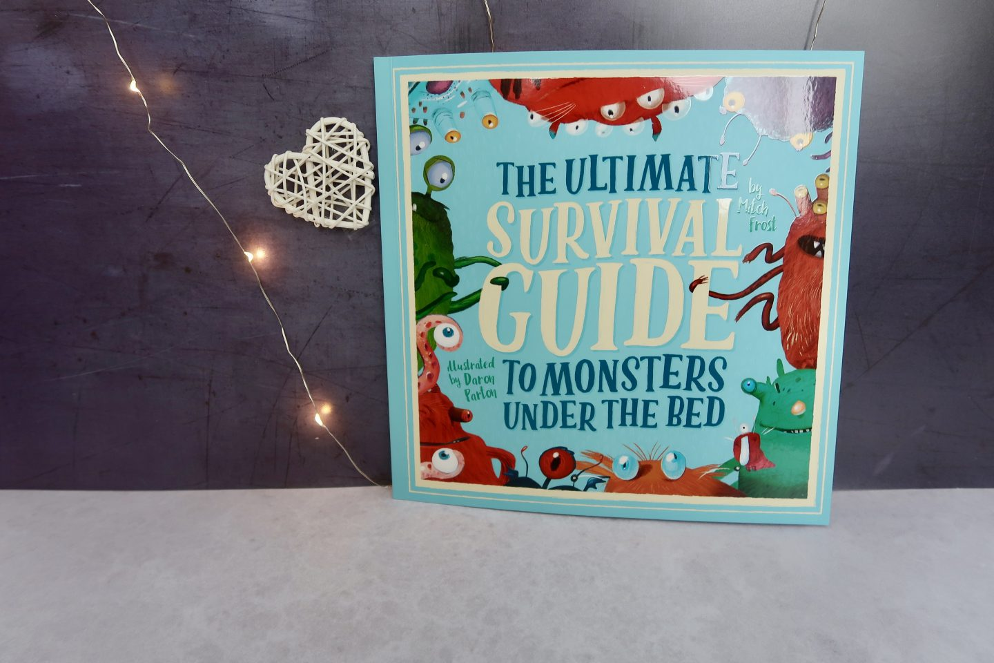 "A childrens book entitled ""The survival guide to monsters under the bed"""